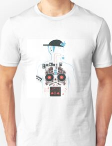 This is what your insides look like on music. Unisex T-Shirt