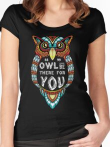 Owl be There for You Women's Fitted Scoop T-Shirt