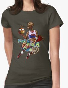 Face Slam Womens Fitted T-Shirt