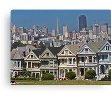 Painted Ladies - San Francisco #1 Canvas Print