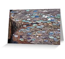 Crusty Coins Greeting Card