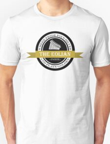 The Eolian - Black and gold T-Shirt