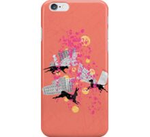 weird city sunset iPhone Case/Skin