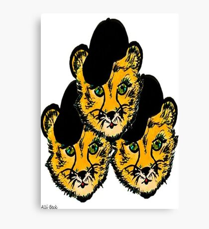 OG Cheetah Canvas Print