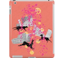 weird city sunset iPad Case/Skin