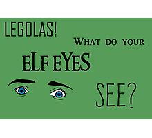 Elf Eyes Photographic Print