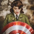 Tanya Wheelock as Peggy Carter (13.2 - Photography by Steven Sze, with Additional Editing by Tascha Dearing) by mostdecentthing