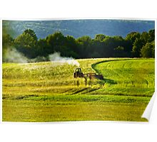Making Hay In PA Poster