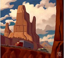 Red Rock Country Photographic Print