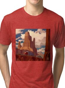 Red Rock Country Tri-blend T-Shirt