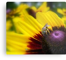 Rumble with the Bumble Metal Print