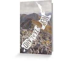 NEW ZEALAND Greeting Card