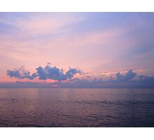 Pink Sky in Penang Photographic Print