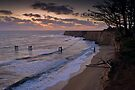 Last Light over Cypress Cliffs by Zane Paxton