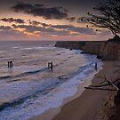 Last Light over Cypress Cliffs by Zane Paxton
