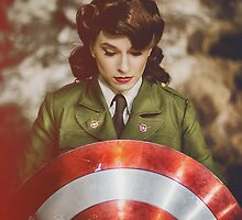 Tanya Wheelock as Peggy Carter (13.3 - Photography by Steven Sze, with Additional Editing by Tascha Dearing) by mostdecentthing