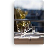 Lazy Saturday Lunch Canvas Print