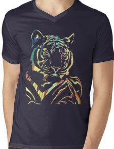 Prettiest Kitty Mens V-Neck T-Shirt