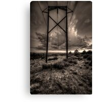 Electrical Storm Canvas Print
