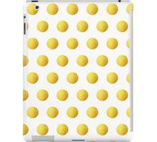 Golden Polka dots iPad Case/Skin
