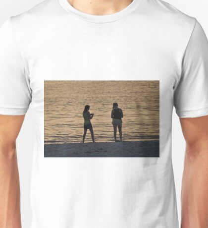 The Girls on the Beach, As Is Unisex T-Shirt