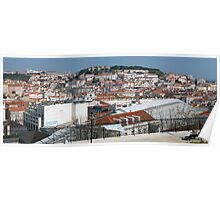 Castelo de Sao Jorge, Lisboa, Portugal Poster