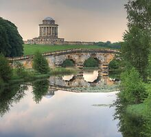 New River Bridge and Mausoleum, Castle Howard  by Nick Barker