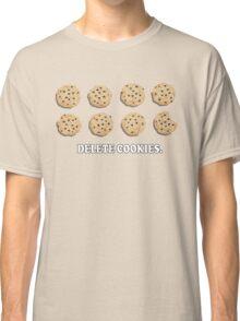 Delete Cookies (Beige) Classic T-Shirt