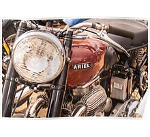 Ariel Motorcycle Poster