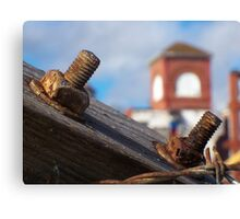 Hardware Rust Canvas Print