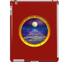 through the porthole iPad Case/Skin