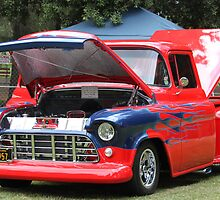 1957 Chevy Pickup - Classic Cruiser by DonnaMoore