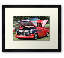 1957 Chevy Pickup - Classic Cruiser Framed Print