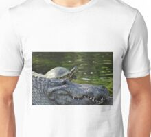 Alligator and Turtle, As Is Unisex T-Shirt