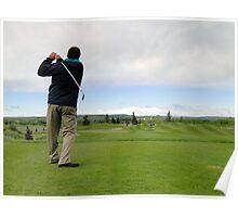 Golf Swing C Poster