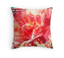 Caged Rose Throw Pillow