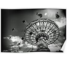 'Swinger' ride - Kalgoorlie-Boulder Community Fair Poster