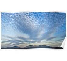 Wave of Clouds - Castle Hill Townsville Poster