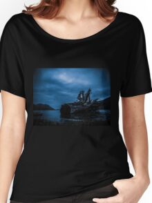 Night Fell Women's Relaxed Fit T-Shirt