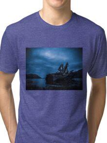 Night Fell Tri-blend T-Shirt
