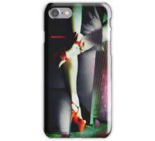 Red Heels at the door iPhone Case/Skin