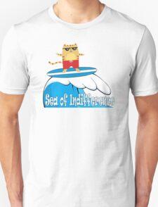 Surfin' the... (Aqua) T-Shirt