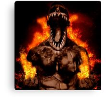 Balor in Flames Canvas Print