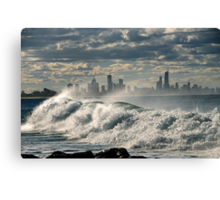 EDITOR OF AUSTRALIA Canvas Print