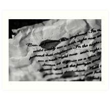 Lyrics - Airplanes, B.O.B ft Hayley Williams and Eminem Art Print