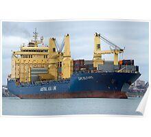 Cape Delfaro - Cargo Ship Poster