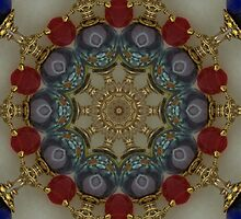 Hand Wired Bracelet Kaleidoscope by Erica Long