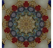 Hand Wired Bracelet Kaleidoscope Photographic Print