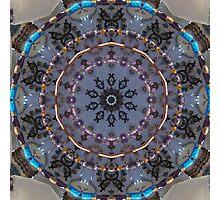Hanging Beads Kaleidoscope Photographic Print