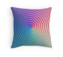Crazy Swirl Throw Pillow